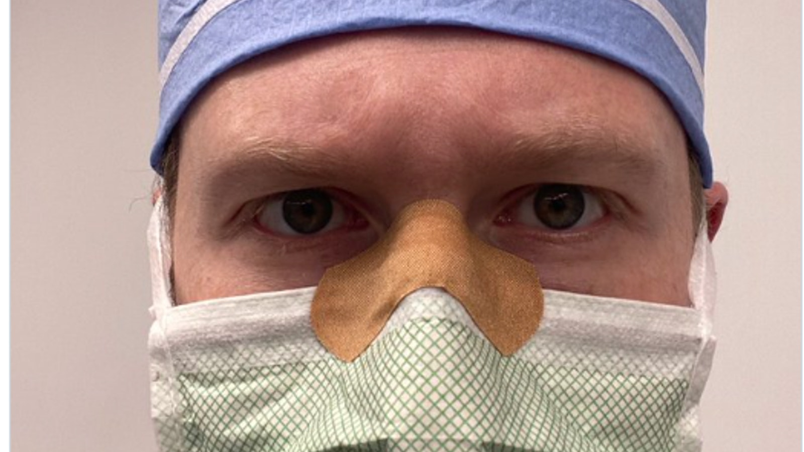 Daniel Heiferman Band Aid Mask