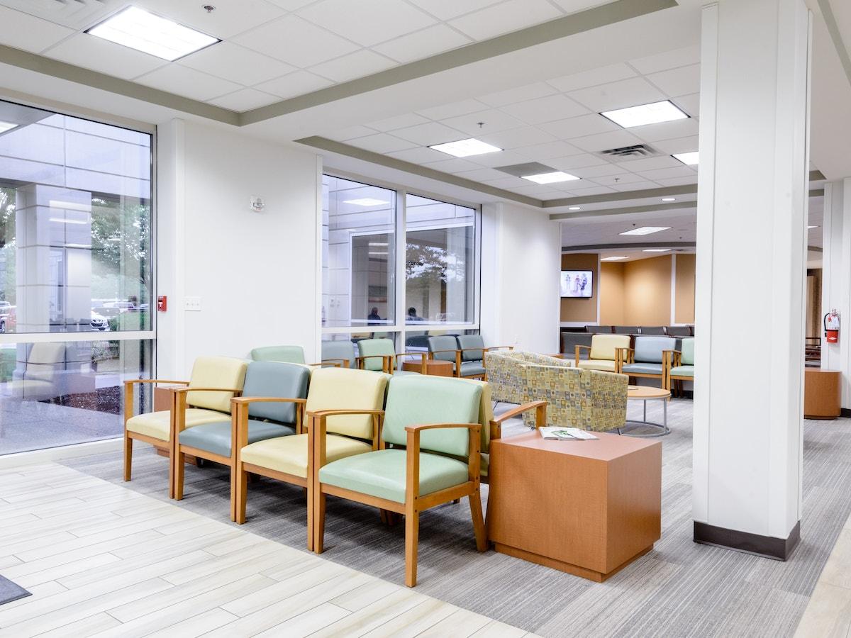 Memphis Interior Waiting Room