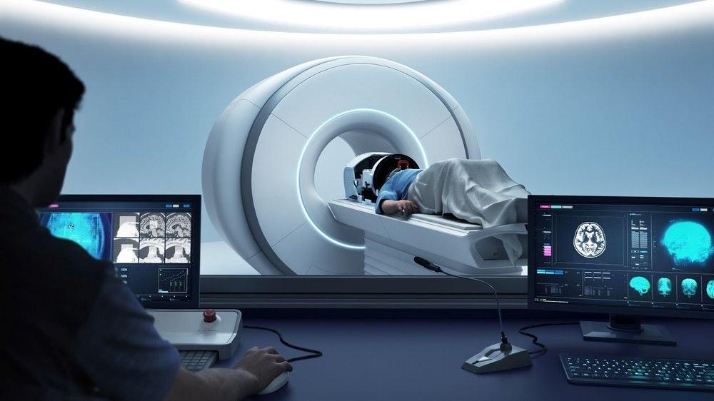 MR Guided Ultrasound MRI Room