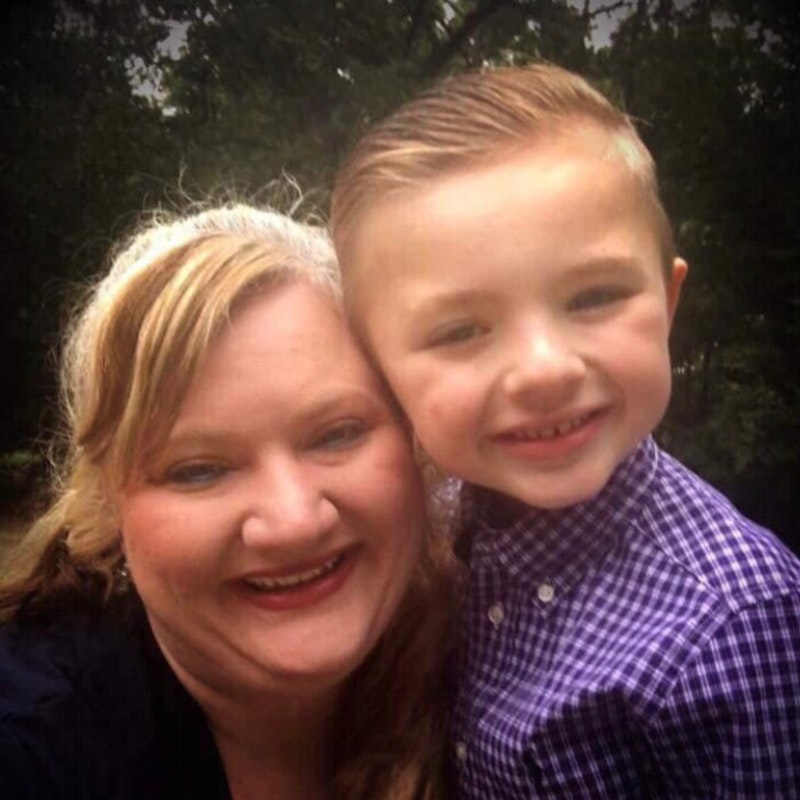 Semmes Murphey Patient Landon and His Mother Traci
