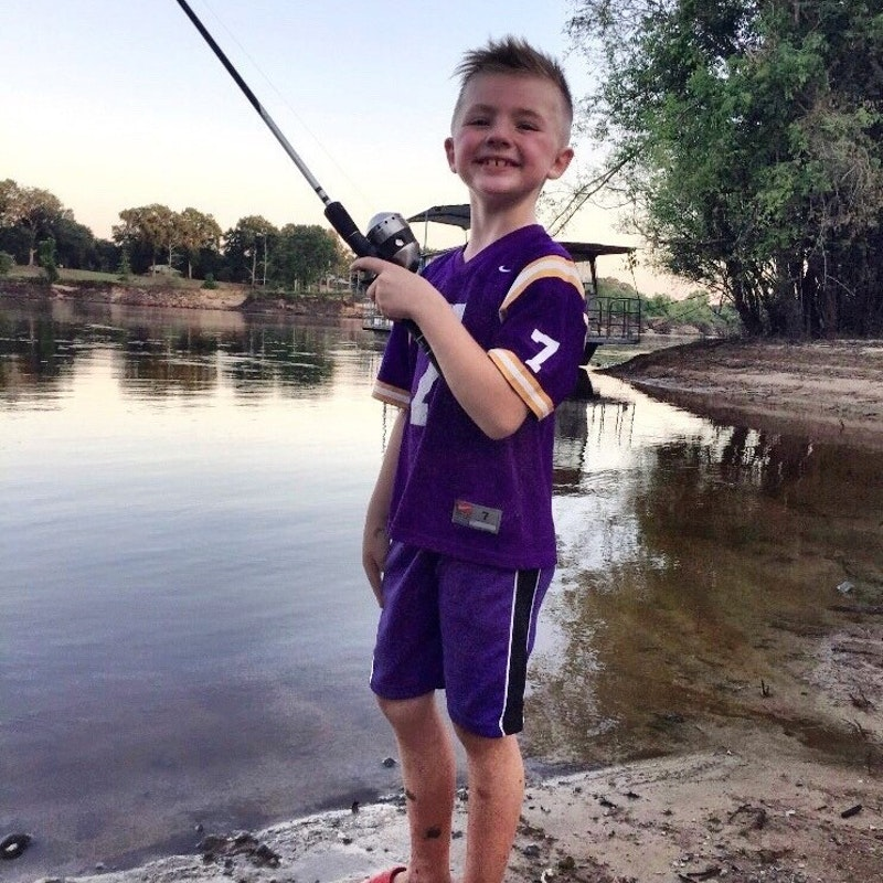 Semmes Murphey patient Landon Fishing